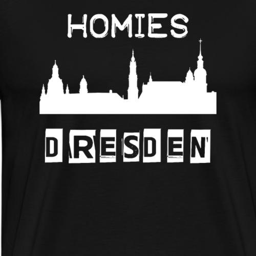 Homies Dresden - Männer Premium T-Shirt