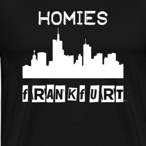 Homies Frankfurt - Männer Premium T-Shirt