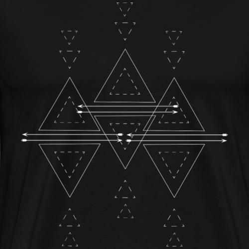 nativ geo 01 01 w - Männer Premium T-Shirt