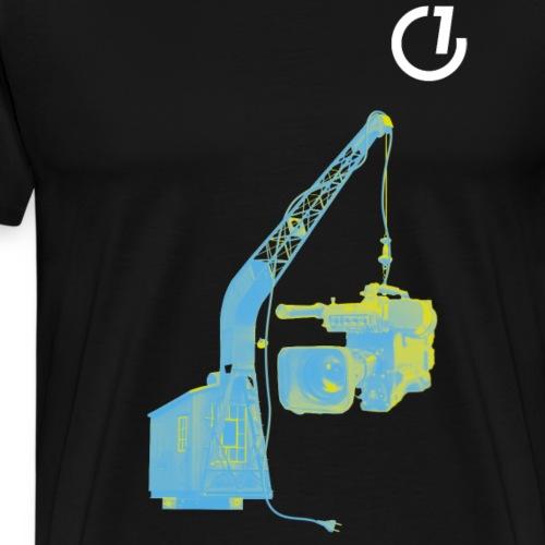 OLDENBURG EINS - Hafenkran - Männer Premium T-Shirt