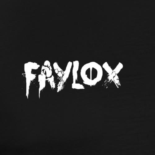 Faylox Signatur - Black Edition - Männer Premium T-Shirt