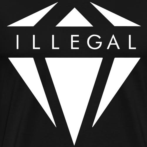 ILLEGAL LOGO - Maglietta Premium da uomo