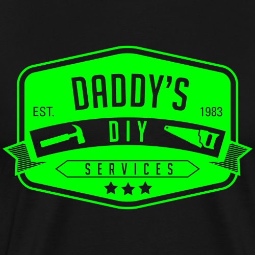 Daddys DIY 1 - Men's Premium T-Shirt