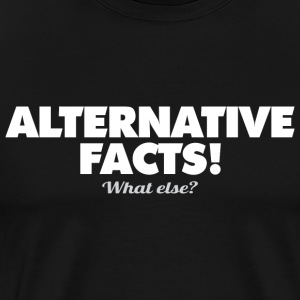 alternative-fakta - Herre premium T-shirt
