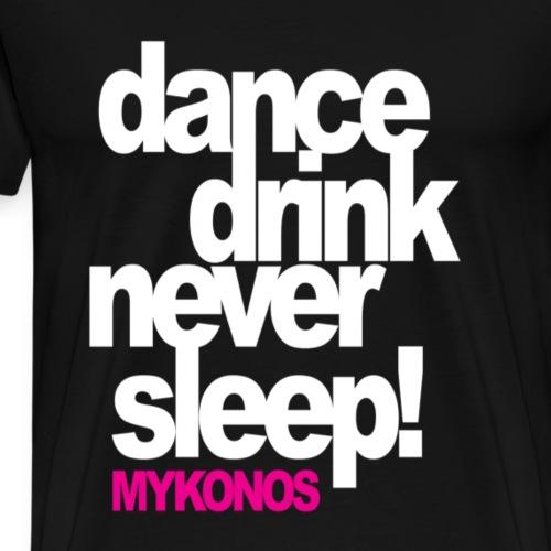 Mykonos Party - T-shirt Premium Homme