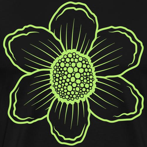 organic flower 01 - Men's Premium T-Shirt