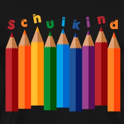 SchulKind (Pen-Edition) - Männer Premium T-Shirt