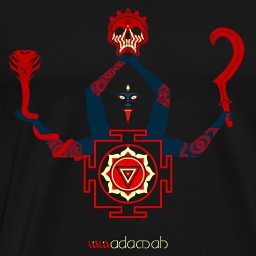 Kali Goddess Blue - Men's Premium T-Shirt