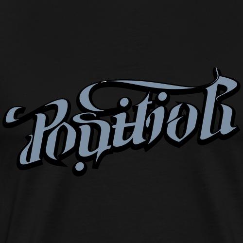 Positiv Negativ - Herre premium T-shirt