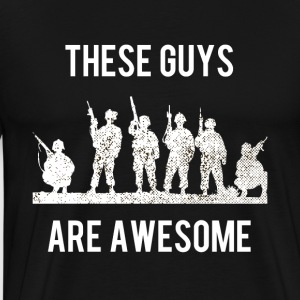 These soldiers are incredible - Men's Premium T-Shirt