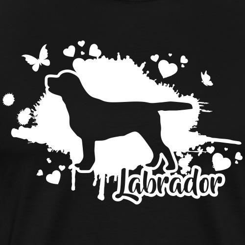 LABRADOR Retriever Wilsigns - Männer Premium T-Shirt