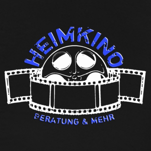 H B M Shop Logo Weiss klein - Männer Premium T-Shirt