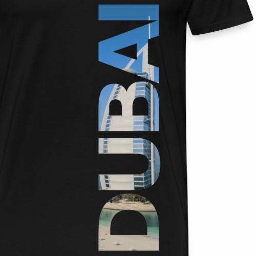 Dubai lettering - Men's Premium T-Shirt