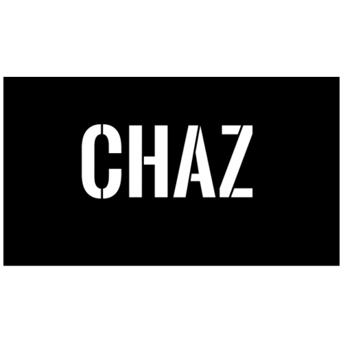 Black and White Chaz design - Men's Premium T-Shirt