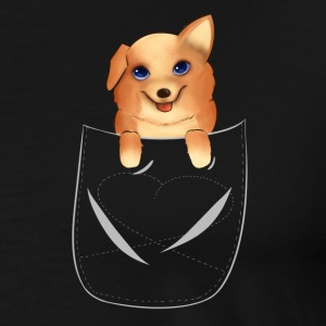 Corgi - Men's Premium T-Shirt