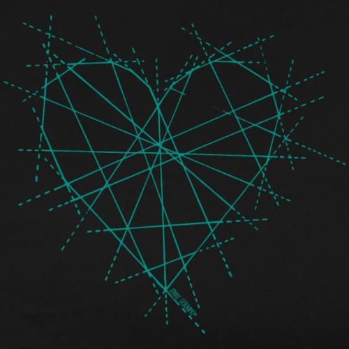 JOIN HEART (GRÜN) - Männer Premium T-Shirt