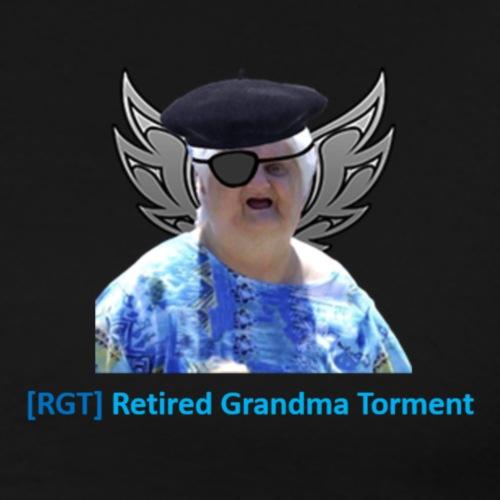 World of tanks- RGT (Retired Grandma Torment) gear - Men's Premium T-Shirt