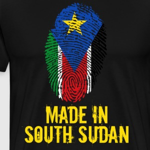 Made In South Sudan / Sydsudan - Premium-T-shirt herr