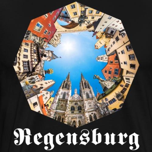 REGENSBURG fraktur - Männer Premium T-Shirt