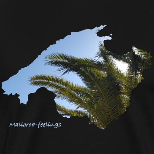 Mallorca-feelings Palmen - Männer Premium T-Shirt