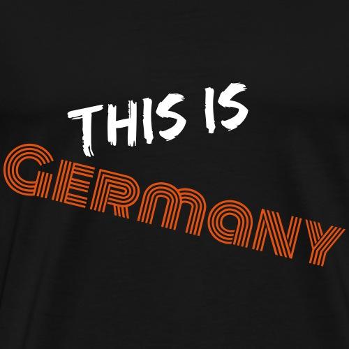 Das ist Deutschland - Männer Premium T-Shirt