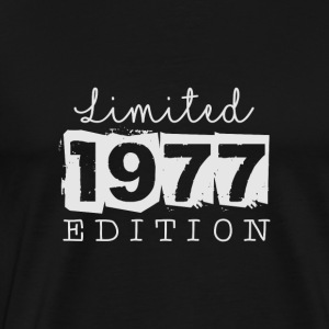 Limited Edition - 1977 - Premium-T-shirt herr