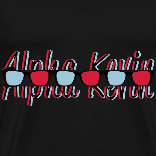 Alpha Kevin V3 - Männer Premium T-Shirt