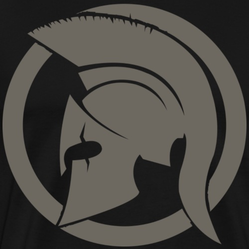 Spartan gris - T-shirt Premium Homme