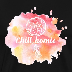 Hippie / Hippies: Chill Ho.mie - Premium-T-shirt herr