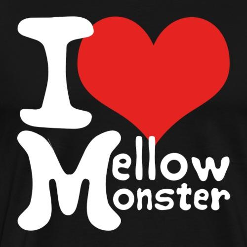 Love Mellow Monster - weiß - Männer Premium T-Shirt