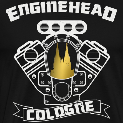 Enginehead Cologne - Men's Premium T-Shirt