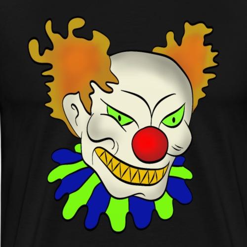 Böser Clown - Männer Premium T-Shirt