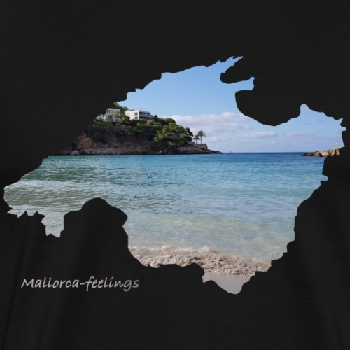Mallorca-feelings beach - Männer Premium T-Shirt