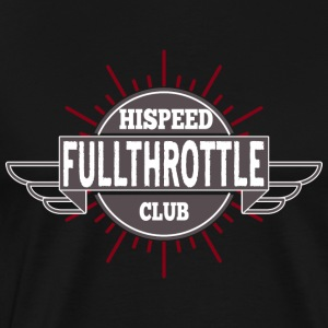 Fullthrottle HiSpeedClub - Men's Premium T-Shirt