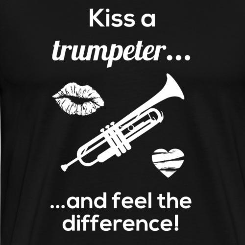Trompete Musiker Blasinstrument Lustiges Geschenk - Männer Premium T-Shirt