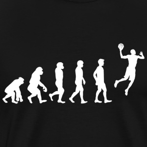 Basketball Evolution! - Premium T-skjorte for menn
