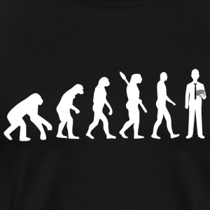 Evolution poker poker w - Mannen Premium T-shirt