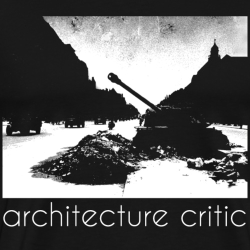 architecture critic - Männer Premium T-Shirt