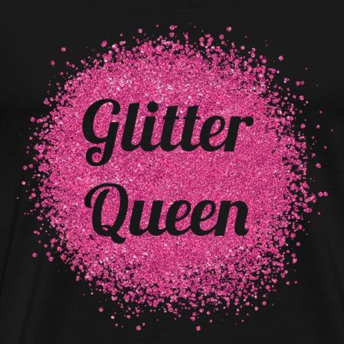 Glitter Queen - Männer Premium T-Shirt