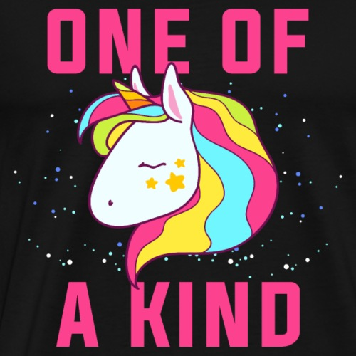One of a kind.Be Unique.Unicorn Magical Gifts - Men's Premium T-Shirt