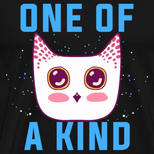 One of a kind.Be Unique Owl.Magical Owls Gifts. - Men's Premium T-Shirt