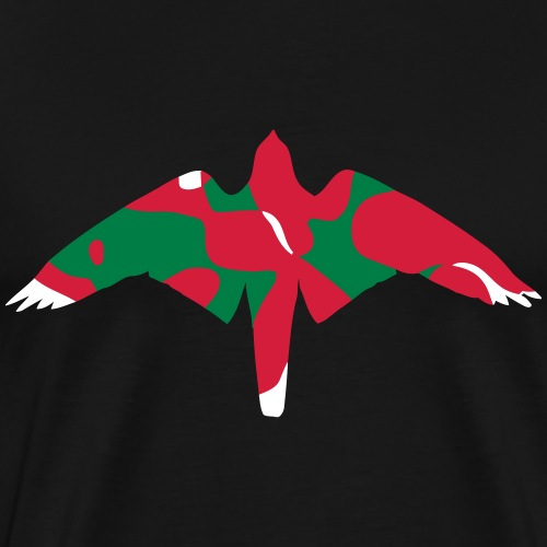 ARAB EMIRATES الامارات العربية Peregrine falcon - Männer Premium T-Shirt