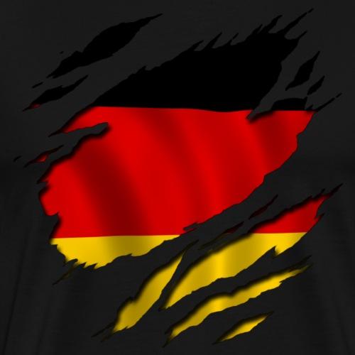 Deutschland unter Deiner Haut - Männer Premium T-Shirt