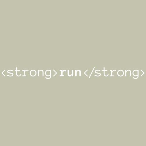 Run Bold, Run Strong - Men's Premium T-Shirt