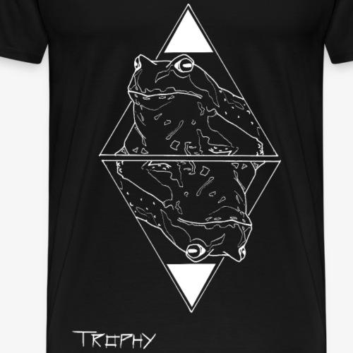 Grasfrosch invert - Männer Premium T-Shirt