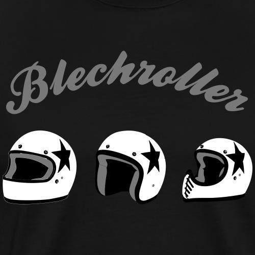 3 Helme - Männer Premium T-Shirt