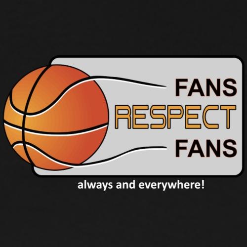 Fans respect Fans LOGO ® - Männer Premium T-Shirt