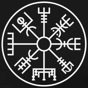 Vegvísir (small) - Men's Premium T-Shirt