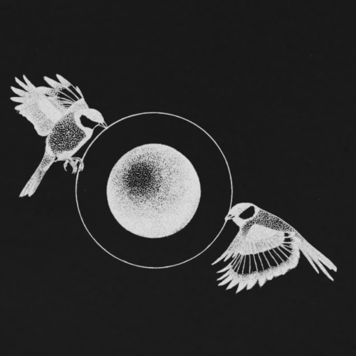 The Pulling Birds - Logo [WHITE] - Men's Premium T-Shirt