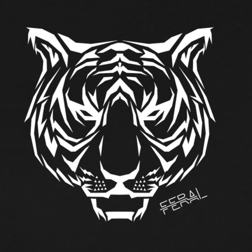 Tiger Tribal - T-shirt Premium Homme
